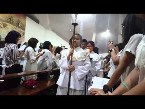 Perarakan Misa Kamis Putih Paroki Asisi Tebet - 24 Maret 2016