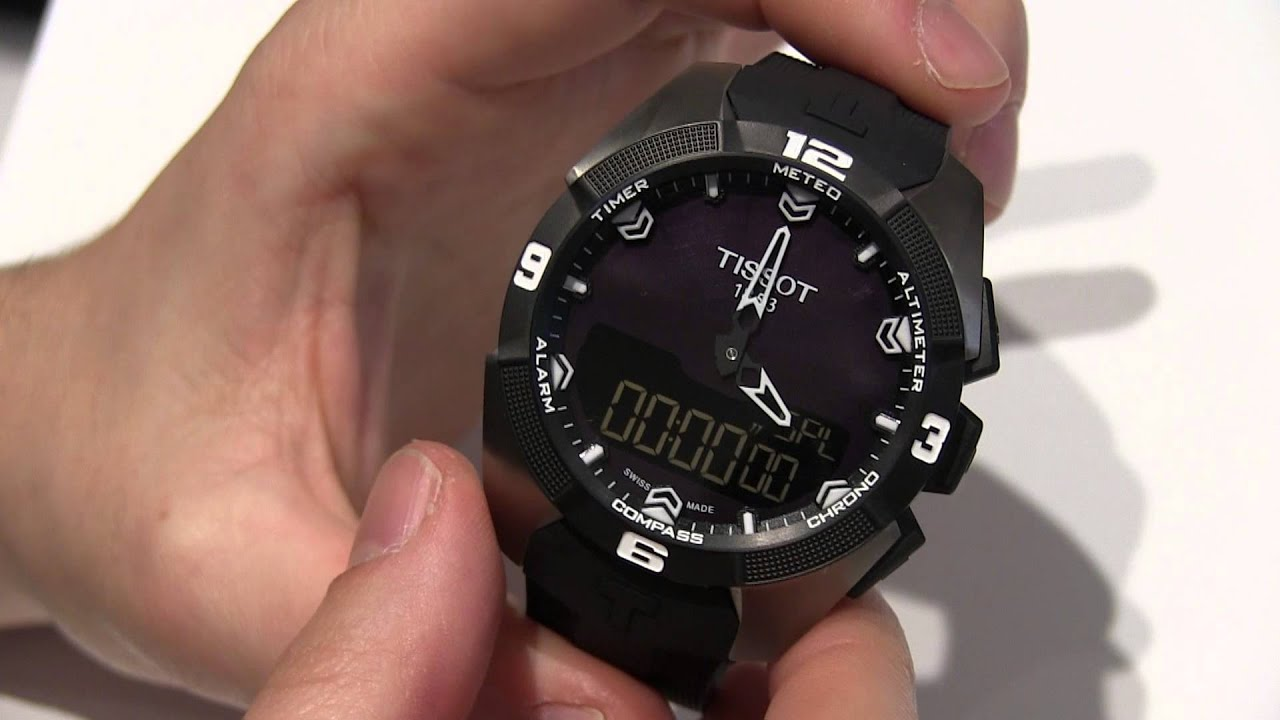 Tissot T Touch Expert Solar Watch Hands On