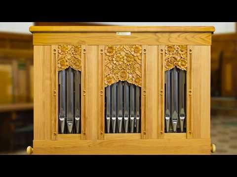 Introducing the newest 2017 built Vagi Continuo Organ - performing Csilla Alföldy-Boruss