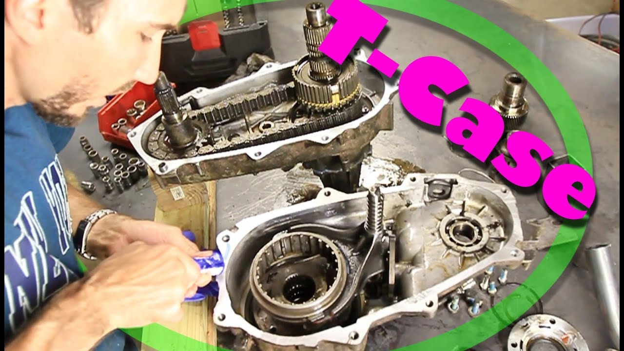 how to open a transfer case change input shaft np231 [ 1280 x 720 Pixel ]