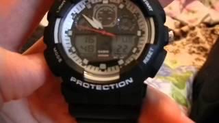 Настройка будильника на G-shock (репліка)