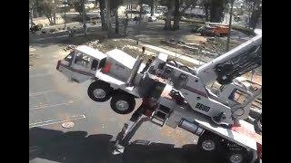 аварии с подъемным краном подборка видео