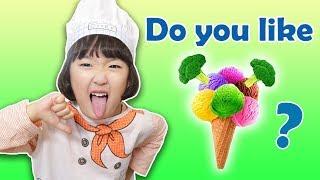 Do You Like Broccoli Ice Cream? with Mashu 어린이 인기 동요 Nursery Rhyme Song - 마슈토이 Mashu ToysReview