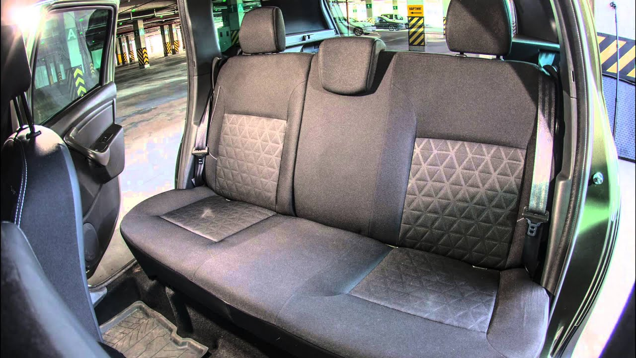 Renault duster back seat