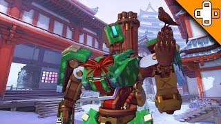 NEW CHRISTMAS SKINS REVEALED! Overwatch Funny & Epic Moments 691