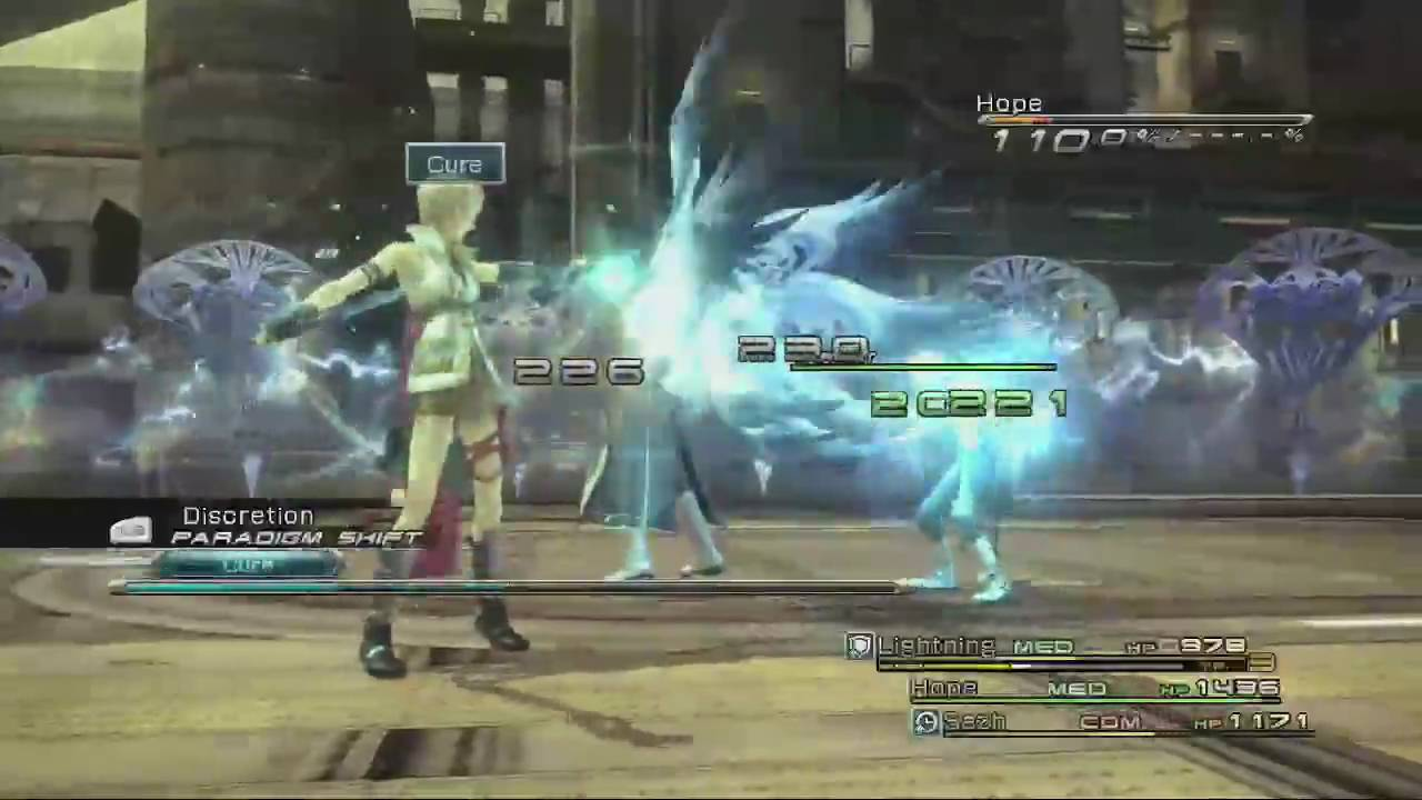 AH Guide: Final Fantasy XIII: Cid Raines Boss Fight | Rooster ...
