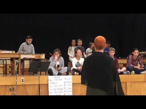 Raleigh Park Elementary School 5th grade music performance
