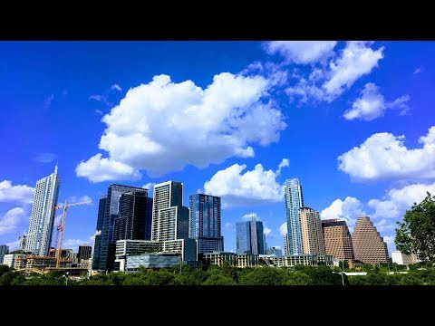 Austin Texas Skyline Time Lapse