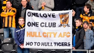 HULL CITY CHANTS AT WEMBLEY VS SHEFFIELD WEDNESDAY PLAY OFF FINAL 2016