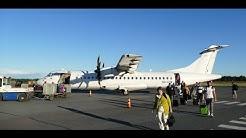 AY373 Finnair/Norra flight Helsinki-Oulu - OH-ATM ATR 72-500