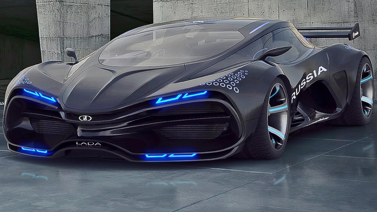vector raven - russian awesome supercar! (lada raven) i like it