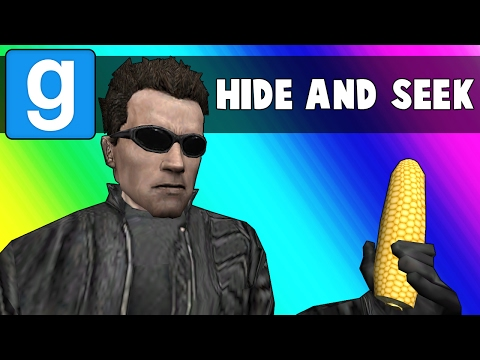 Gmod Hide and Seek Funny Moments - The Snake Mop (Garry's Mod)