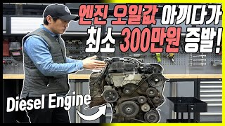 """""""엔진 오일값 8만원 아낀 최후"""" 제…"""