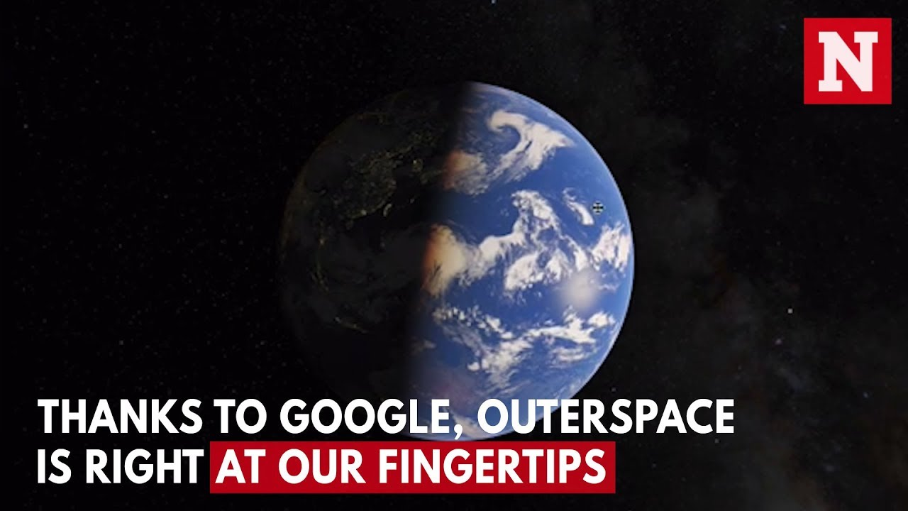 Google Maps Now Covers Our Solar System - YouTube