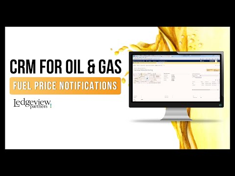 CRM For Oil and Gas  - Fuel Price Notifications