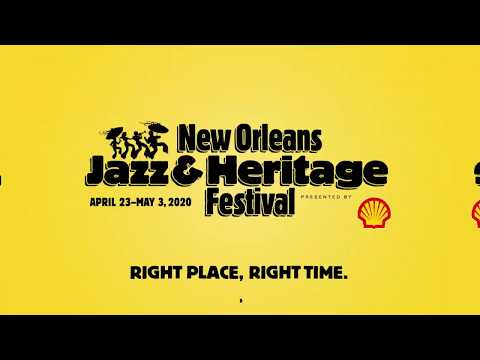 Official Jazz Fest 2020 Talent Announcement Video