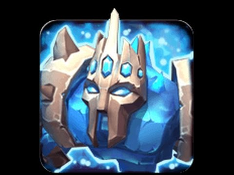 Castle Clash: Tricky Raid With Level 1 Pd And Ice Demon  - Tb0606