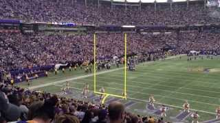 Last skol Vikings at the Metrodome.