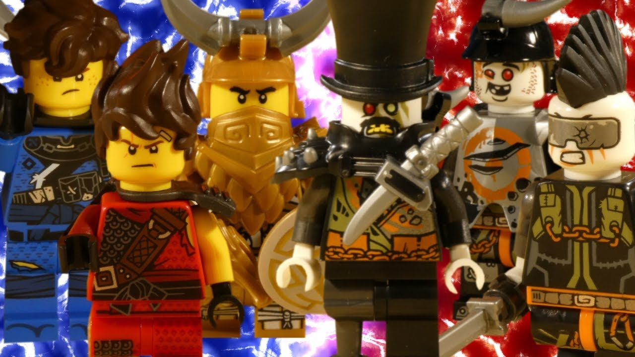 LEGO NINJAGO HUNTED - DRAGON HUNTER BATTLE COMPILATION