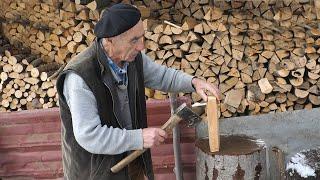 Ejub jedini u Srednjoj Bosni izrađuje drvene nanule