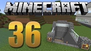 Estação de metrô/minecart - Minecraft Em busca da casa automática #36
