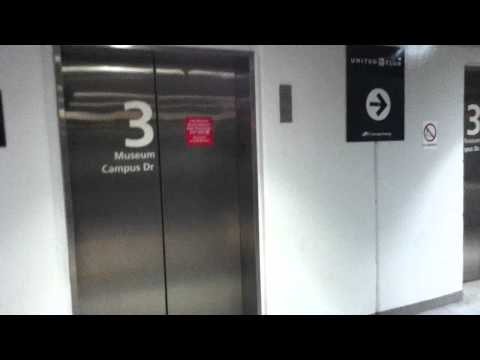 Unknown Elevators at the Museum Campus parking garage in Chicago