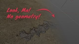 Blender Tip: Geometry-Less Decals