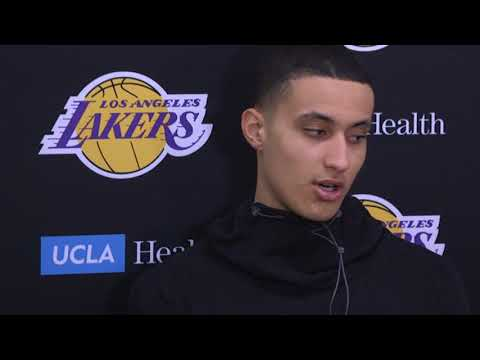 Kyle Kuzma on ROOKIE OF THE MONTH AWARD + LOSING WITH LONZO BALL | Pregame v Nuggets | Dec 2, 2017
