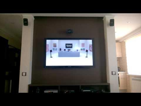 Logitech Z-906 Speaker System Dolby Digital Test