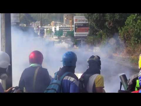 Protests in Venezuela over elections