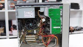 길거리에서 폐기 컴퓨터를 주워왔습니다. 네? 1코어 1스레드 CPU요?