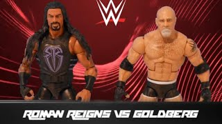 Roman Reigns vs. Goldberg: Action Figure Showdown