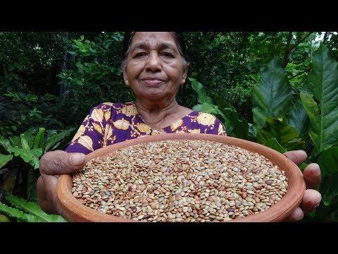 Healthy Village Foods ❤ Yummy Horse Gram Curry prepared in my Village by my Mom