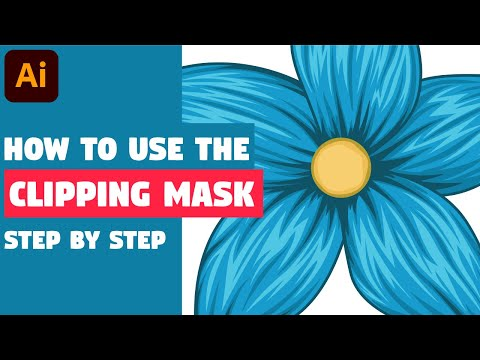 How to use CLIPPING MASK | Illustrator CC Tutorial thumbnail