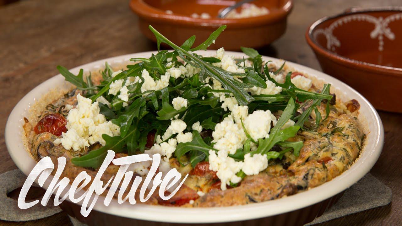Como cocinar quiche con setas rapido receta en la for Como cocinar risotto de setas