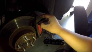 How To: Subaru Forester Front Brake Pads