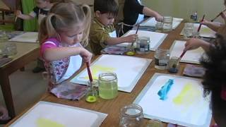 Painting at The Children