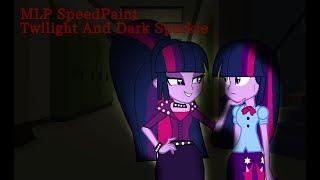 MLP SpeedPaint| Twilight Sparkle and Her Dark Self