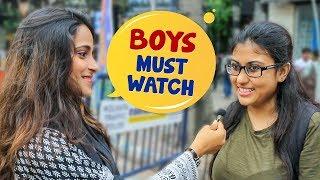 What Makes A GUY Approach A GIRL?   Kolkata Girls Open Talk   Boys Must watch   Wassup India