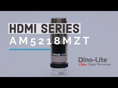 HDMI Digital Microscopes - Dino-Lite AM5218MZT(L) Series
