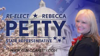 Representative Rebecca Petty (R) District 94-Rogers-Bentonville 2016
