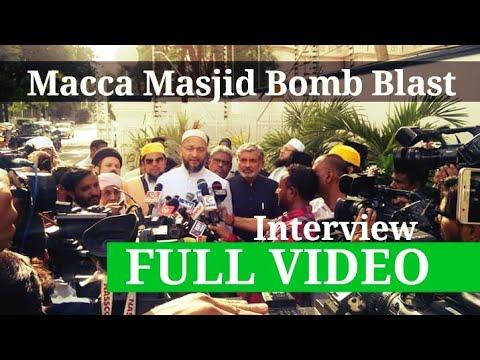 Asaduddin #Owaisi Speaking with Media After Meeting Governor of Telangana
