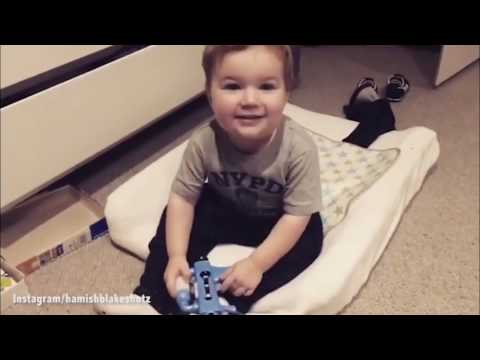 Sonny Blake cheekily mocks father Hamish in Instagram video
