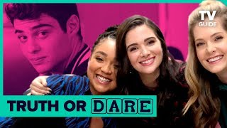 The Bold Type Cast Plays Truth or Dare Jenga | Who Was Arrested?