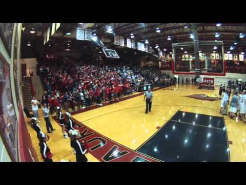 "South Laurel ""Cardinal Crazies"" 1-16-15 GoPro"