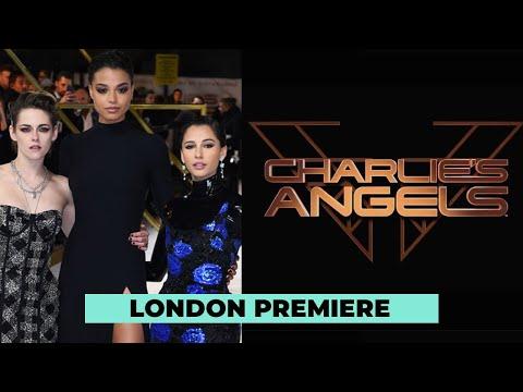 Charlies Angels: Kristen Stewart, Naomi Scott & Ella Balinska At The European Premiere
