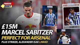£15m Marcel Sabitzer Perfect For Arsenal, Plus Striker Alexander Isak Linked | AFTV Transfer Daily