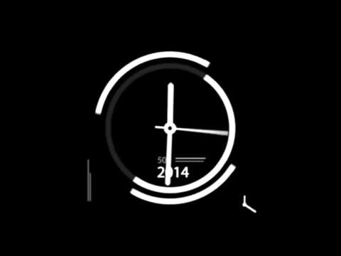 DOWNLOAD - Clock Speeding Up Then Slowing Down With Tick-Tock Noise - Sound/Visual Effect