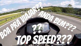 Top Speed BMW G310GS - Taxista quase me derrubou!!