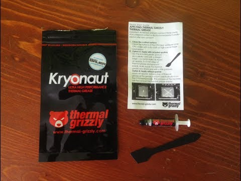 Thermal Grizzly Kryonaut 1g Unboxing Youtube